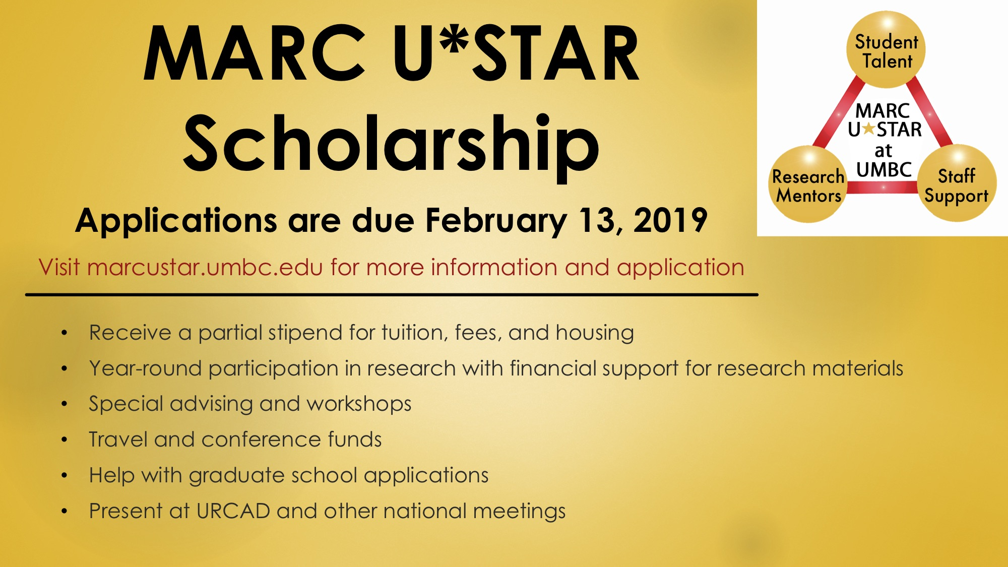 Application For 2019-2020 Now Open