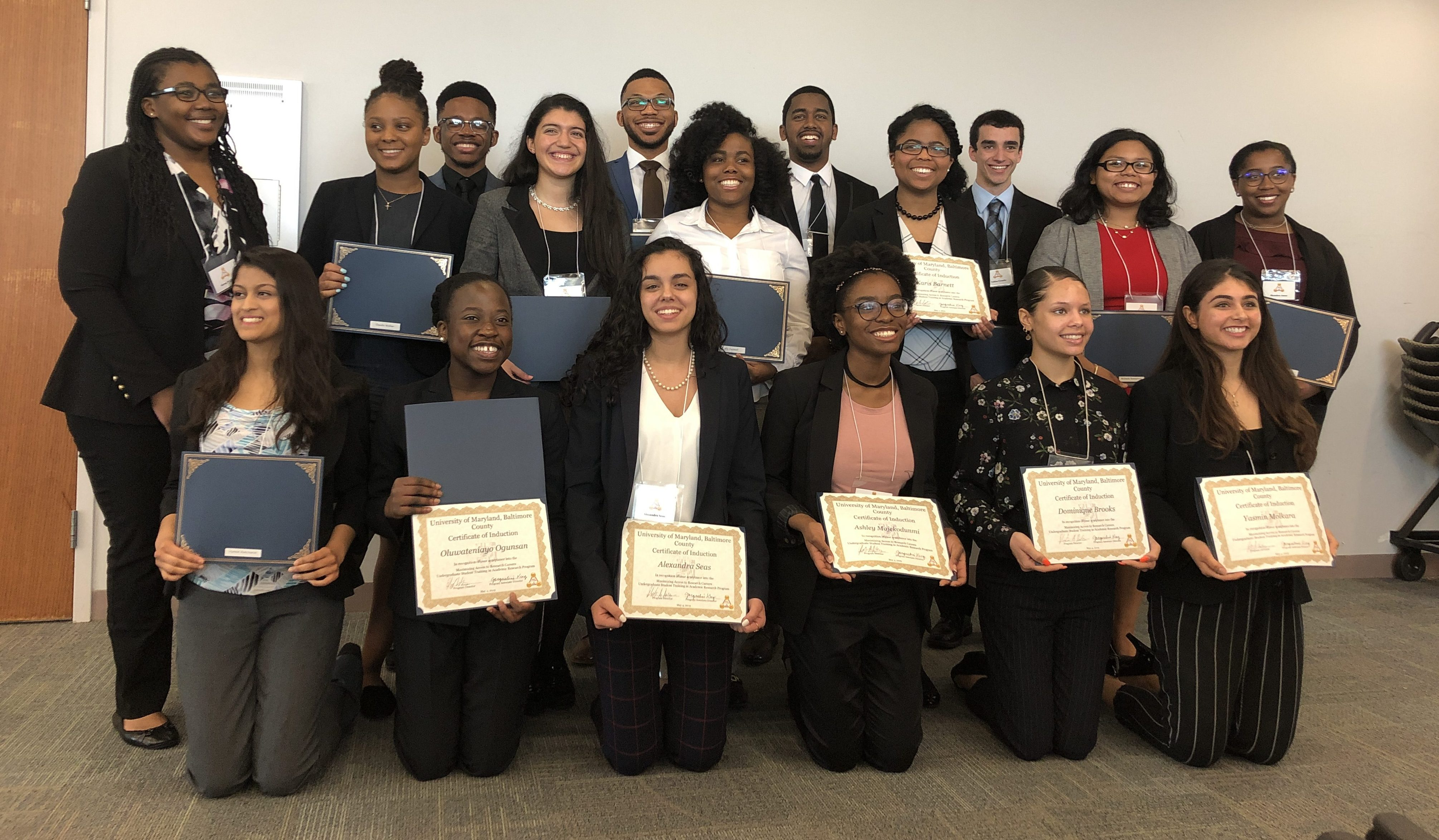 MARC Welcomes New Inductees